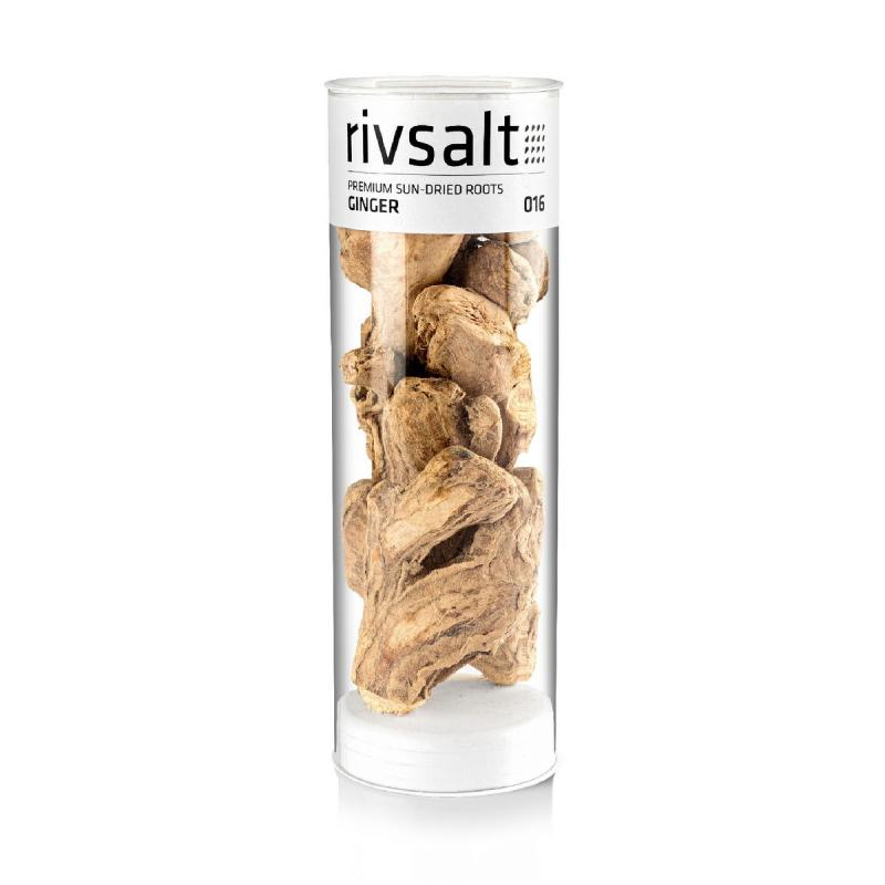 GINGER REFILL Premium sun dried ginger roots from Rivsalt