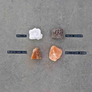 RIVSALT TASTE Refill med fyra saltstenar från olika länder