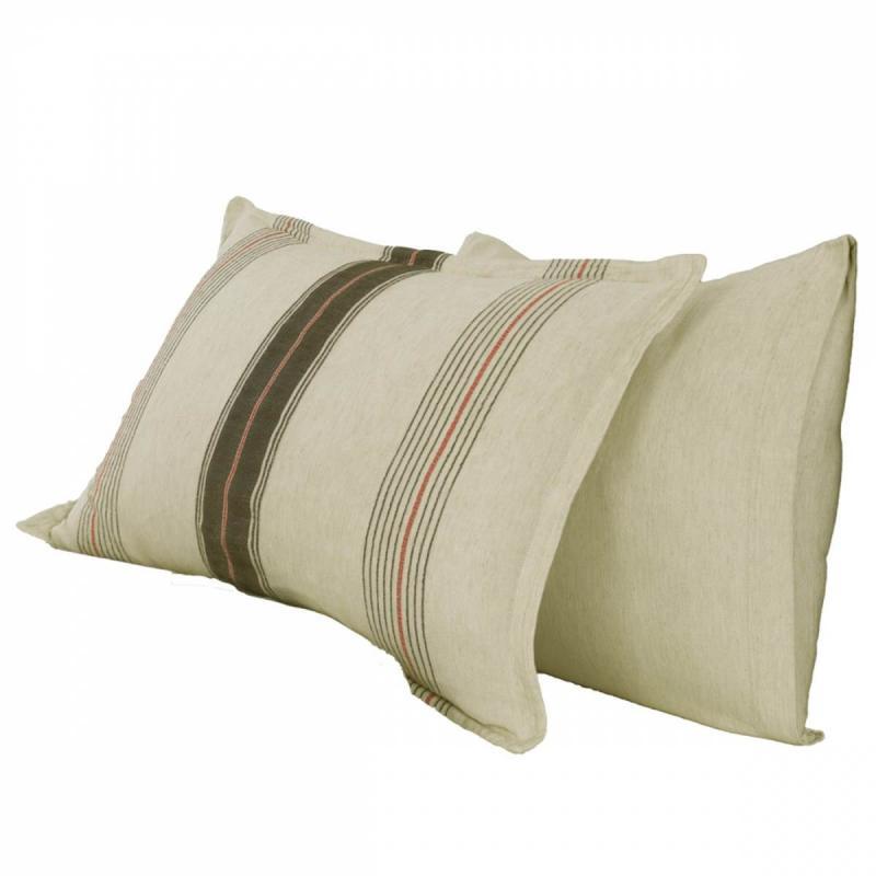 2 Pillowcase PANDORA Ficelle