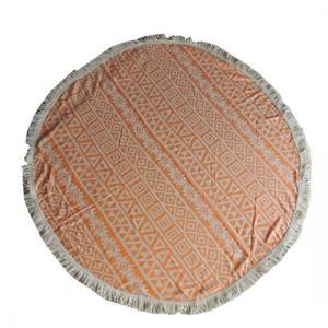 Rund Hamam handduk Poyraz Orange