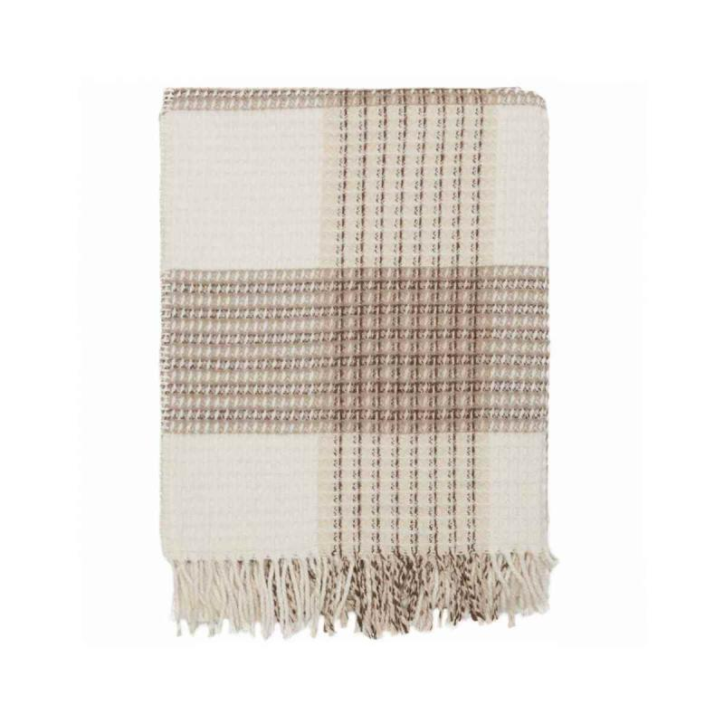 Blanket CHECK ficelle