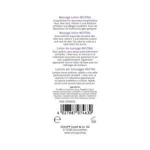 Schupp Massage-lotion Neutral 1 liter