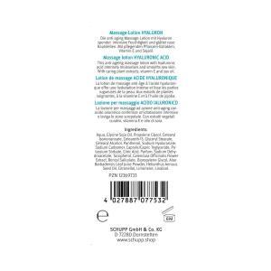 Schupp Massage-lotion Hyaluron 0,5 liter