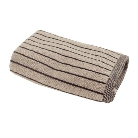 SENSEI Handduk 50x100 cm MILANO Sabel Färg: Sabel, 80% Bomull 20% Modal 580gr/m²