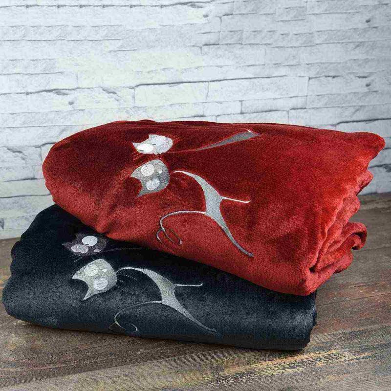 Fleece blanket PARIS BY CAT
