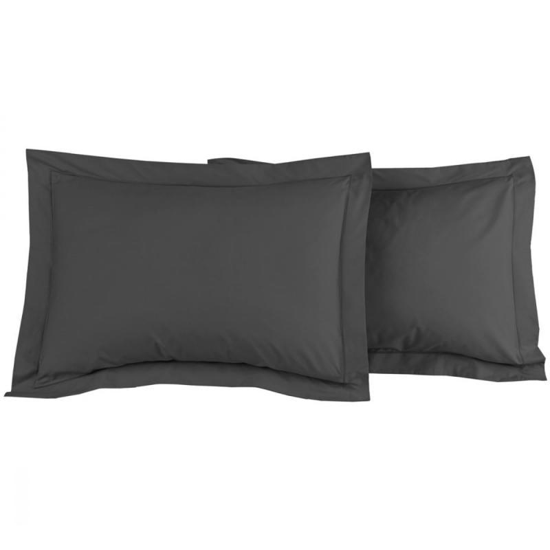 2 Pillowcase SENSEI SOFT Anthracite