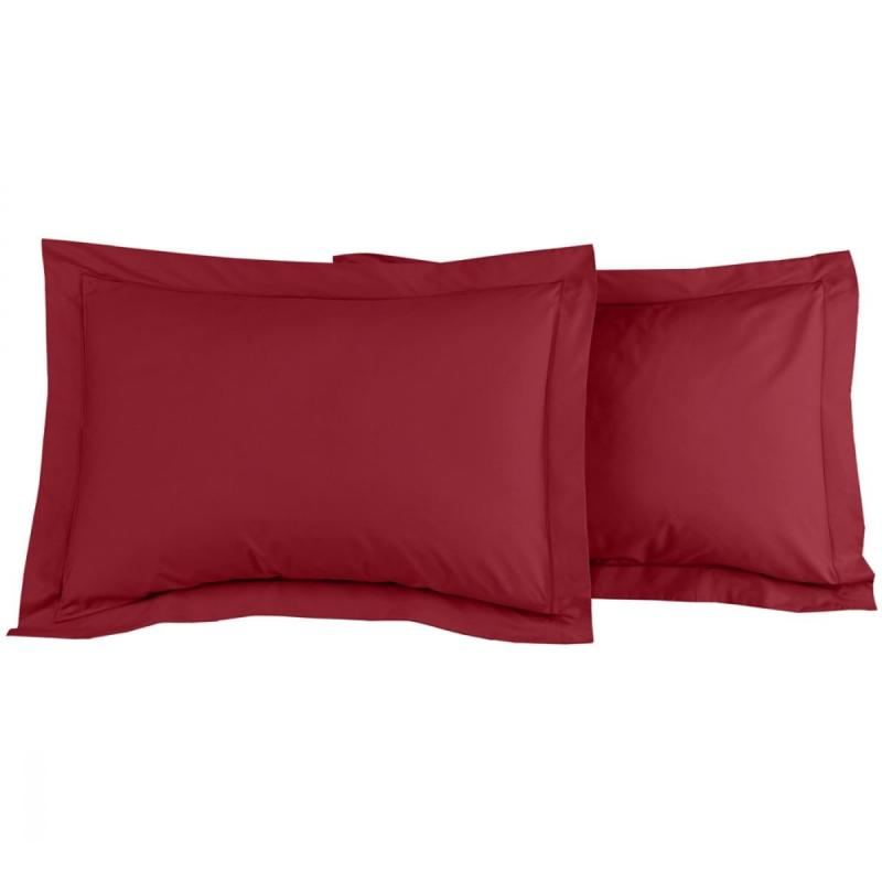 2 Pillowcase SENSEI SOFT Cardinal
