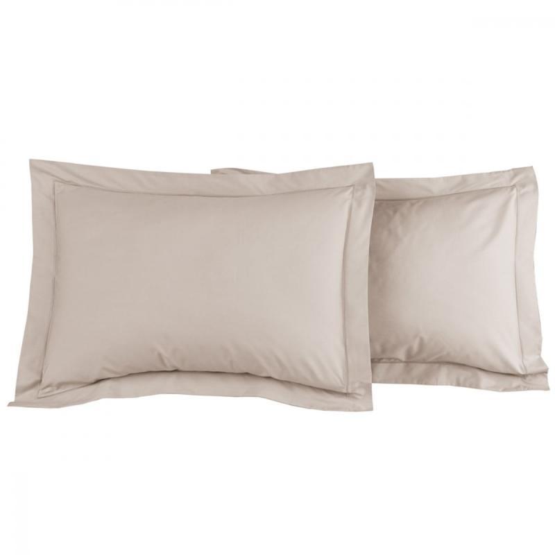 2 Pillowcase SENSEI SOFT Ficelle