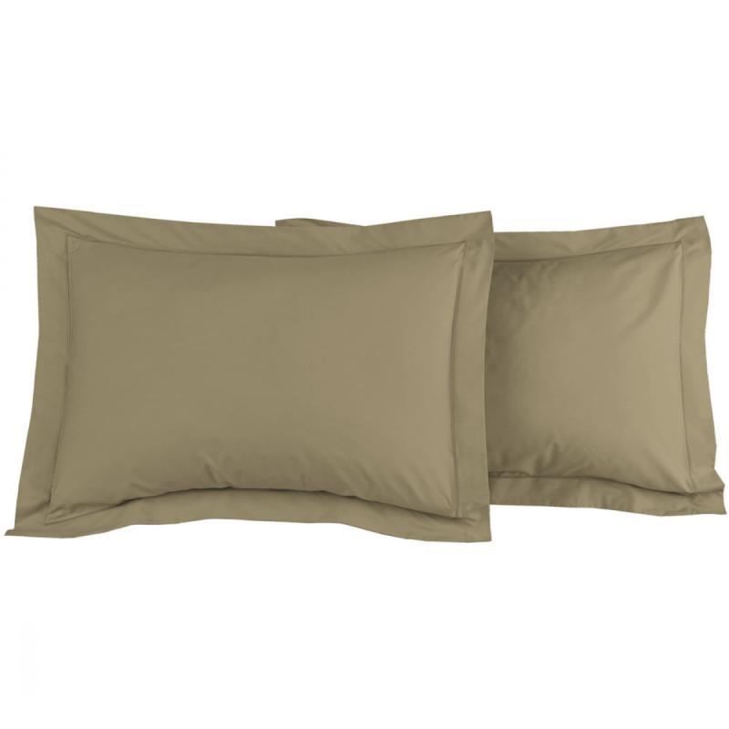2 Pillowcase SENSEI SOFT Taupe