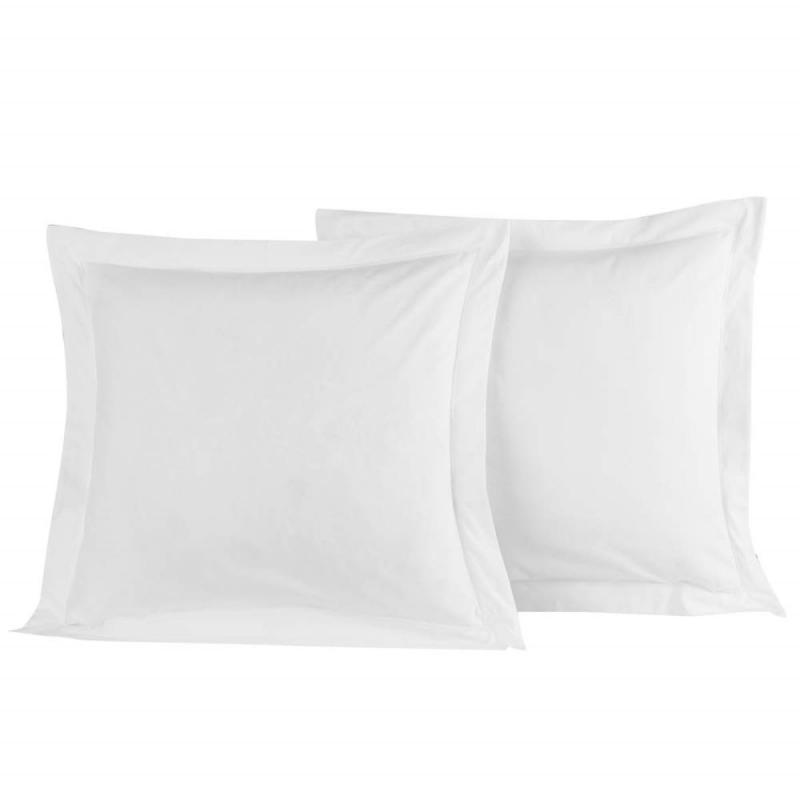 2 Pillowcase SENSEI SOFT Blanc