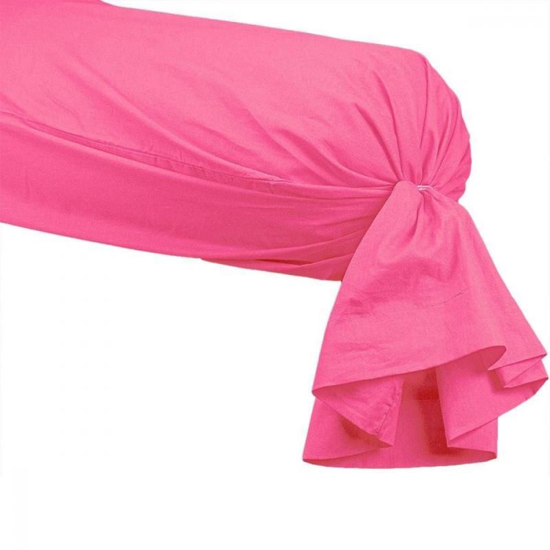 Bolster Cover SENSEI SOFT Rose Indien