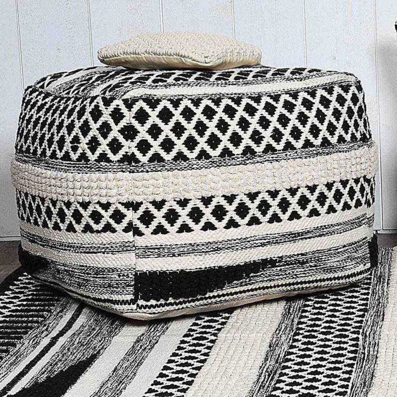 Pouf AK Collection 100% Coton ETHNIK