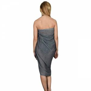 Strand sarong KATUNO anthracite