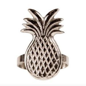 By On Servettring Tropical 5x3 cm Silver