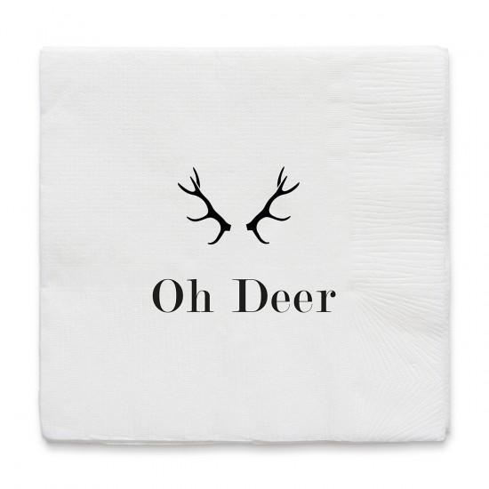By On Servett Oh Deer 17x17 cm
