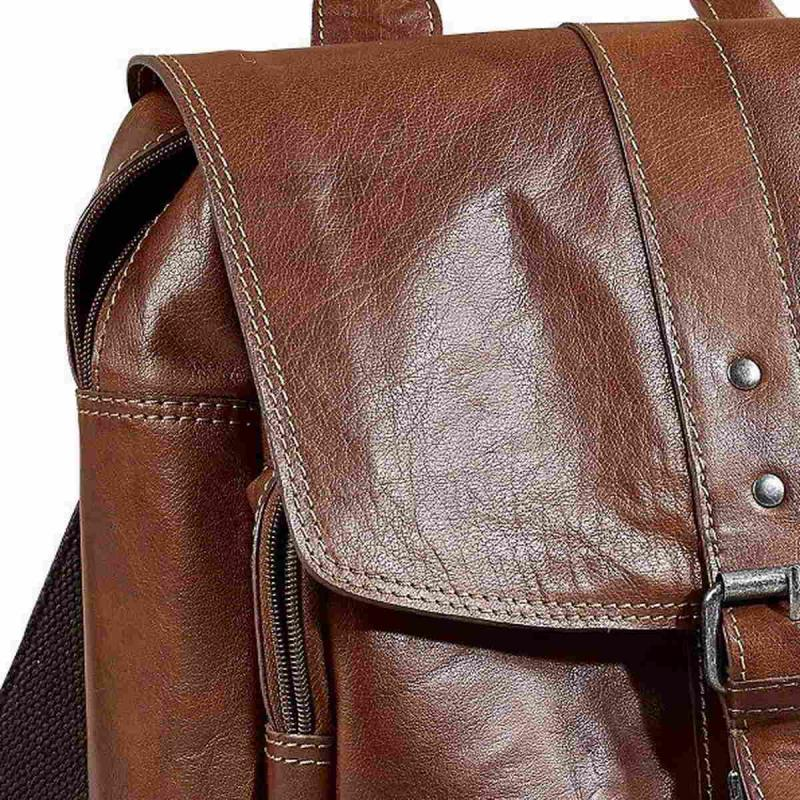 Leather City Backpack Baway