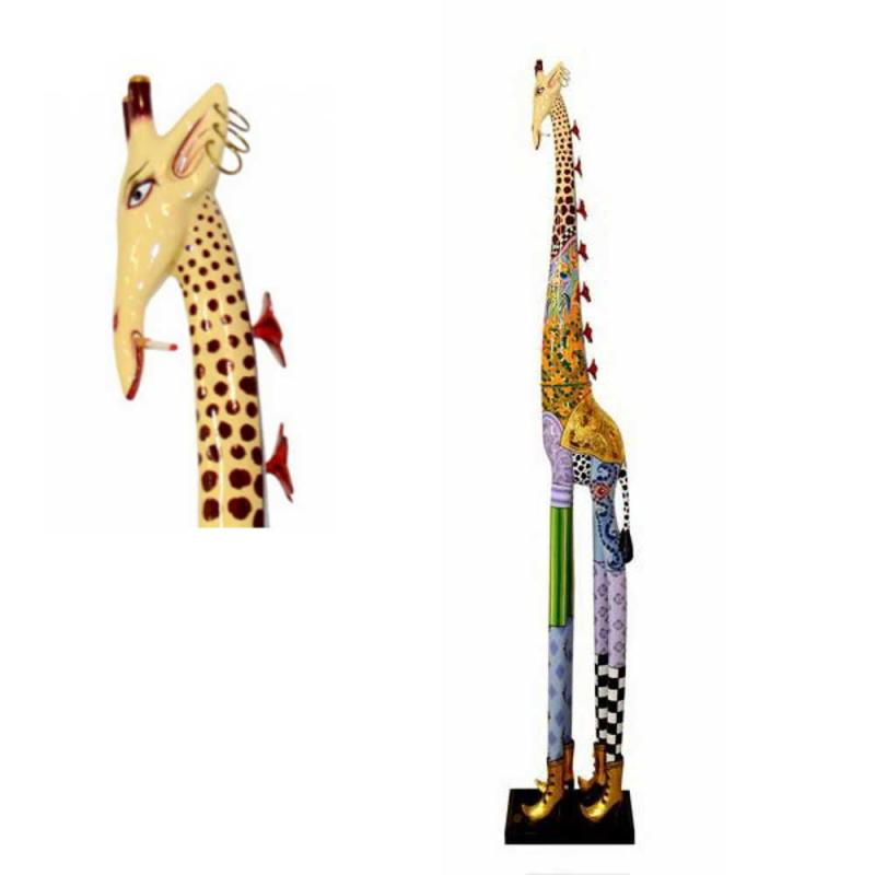 Toms Drag Giraffe Roxanna XXL Head straight or down. Limited edition collection Online