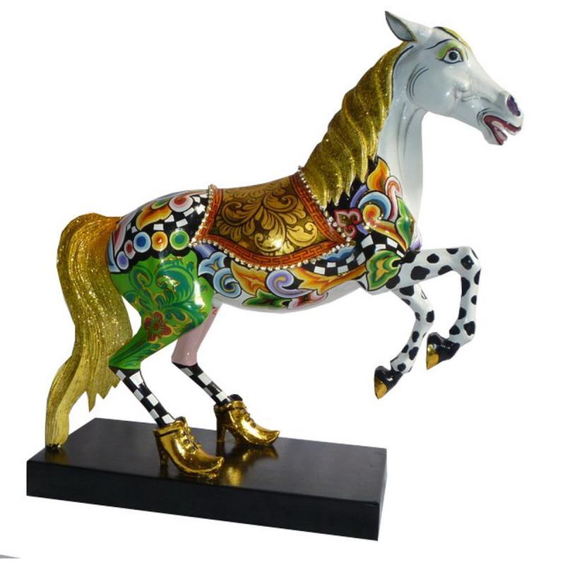 Häst White Champion L