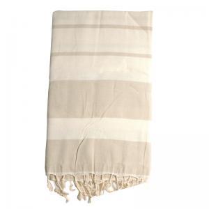Hamam handduk Beige 100x180 cm 100% bomull modell 10
