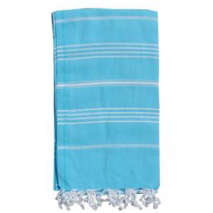 Hamam handduk Turquoise 100x180 cm 100% bomull modell 15