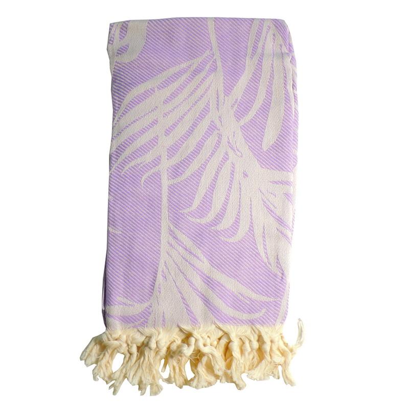 Hamam handduk Lilac 100x180 cm 100% bomull modell 19