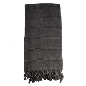 Hamam handduk Black 90x170 cm %60 bambu 40% Bomull modell 30