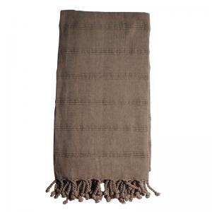 Hamam handduk Brown 90x170 cm %60 bambu 40% Bomull modell 32