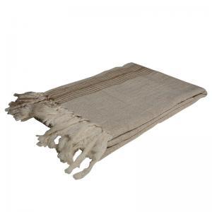 Handgjord Hamam handduk 100x200 cm 50% bomull 50% linen modell 48