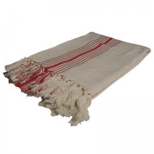 Handgjord Hamam handduk 100x200 cm 50% bomull 50% linen modell 51