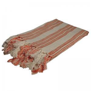 Handgjord Hamam handduk 100x200 cm 50% bomull 50% linen modell 52