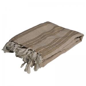 Handgjord Hamam handduk 100x200 cm 50% bomull 50% linen modell 53
