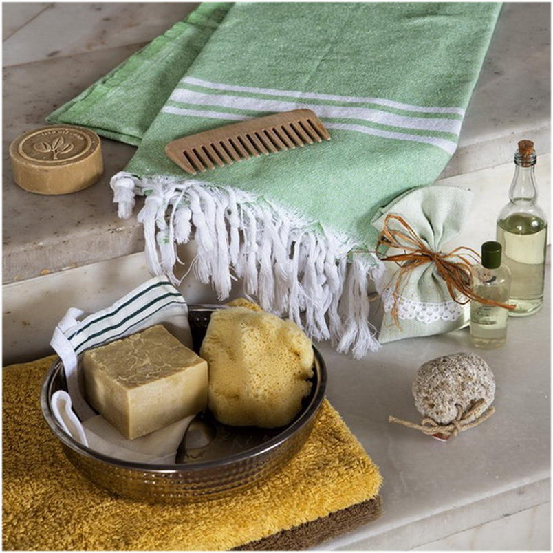 Turkish Hammam Towel - Peshtemal - Fouta 100x180 cm 100% cotton