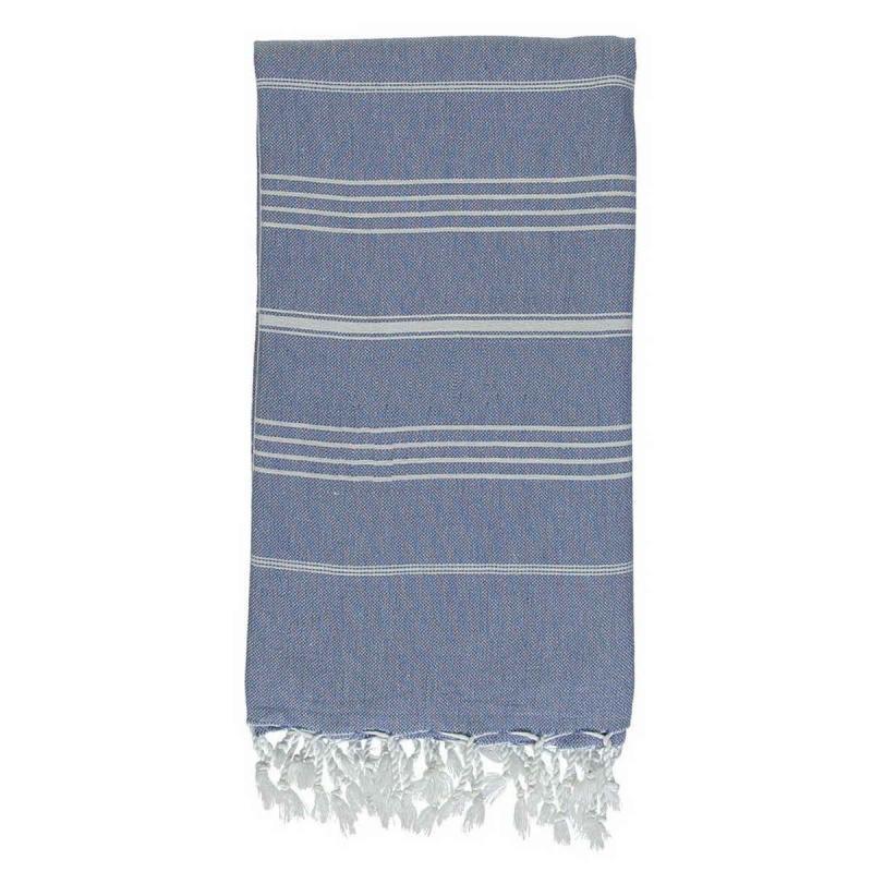 Hammam Towel De La Mer Denim Blue