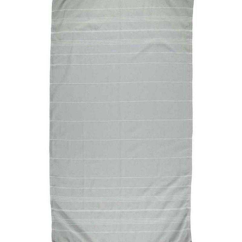 Hammam Towel De La Mer Silver Grey