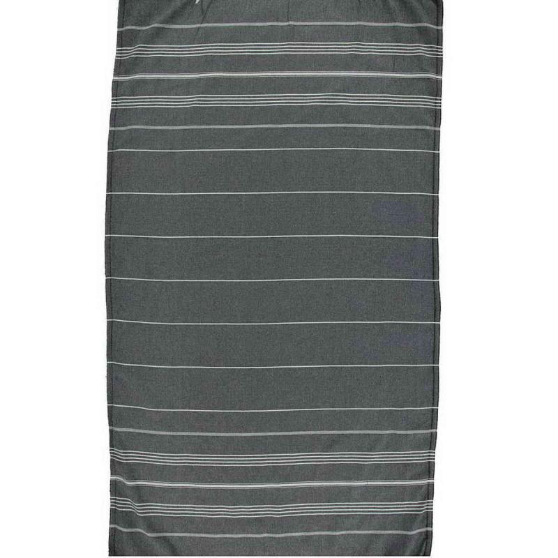 Hammam Towel De La Mer black
