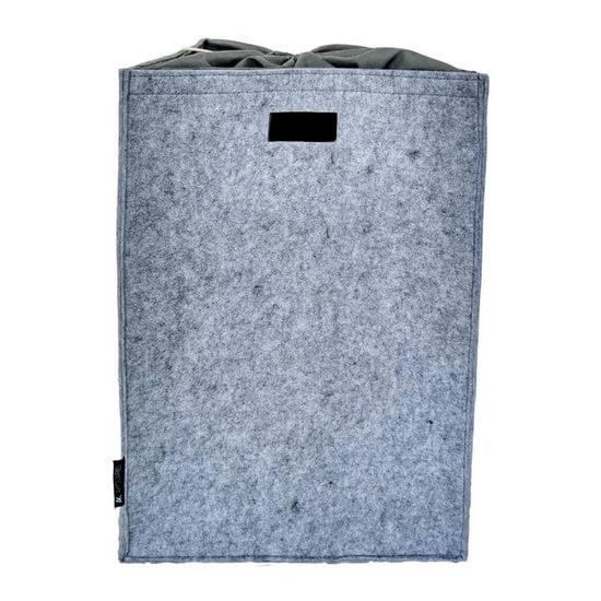 Tvättkorg VAZO 62x42x50 cm Pärlgrå från franska AKOUAREL
