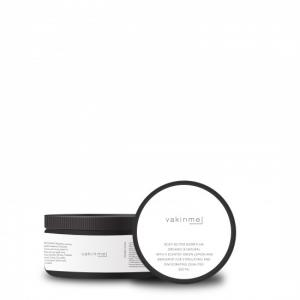 Body butter Björktuva 250 ml Black with a fresh scent of green lemon and bergamot