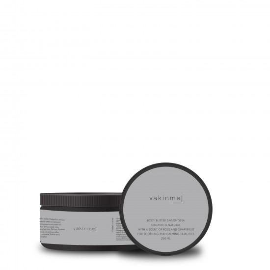 Body butter Daggmossa 250 ml Black med en tillfredställande doft av ros och grapefrukt, är lugnande och avkopplande.