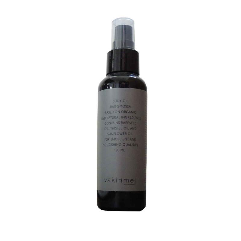 Vakinme Body oil Daggmossa. Organic Skin Care Onlne