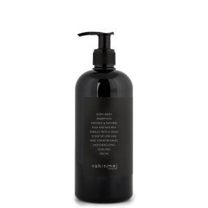 Vakinme Body wash Åkermynta 500ml baserad på naturliga och ekologiska ingredienser