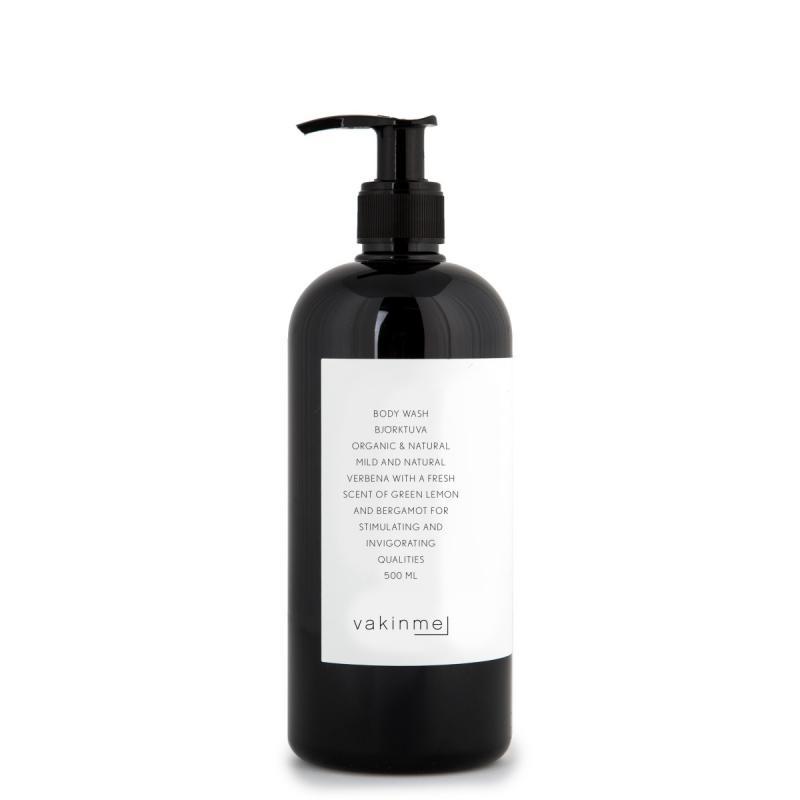 Vakinme Body wash Björktuva 500ml Based on natural and organic ingredients.