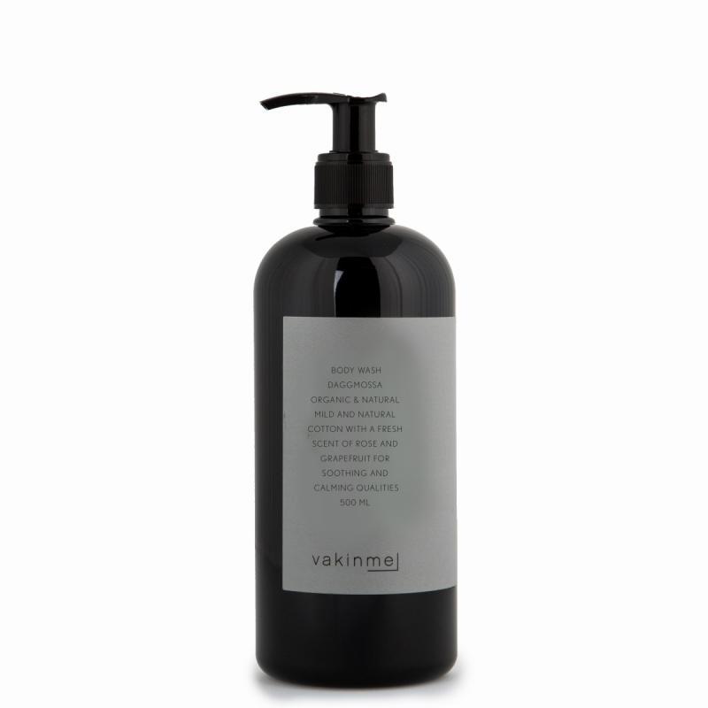 Vakinme Body wash Daggmossa 500ml Based on natural and organic ingredients.
