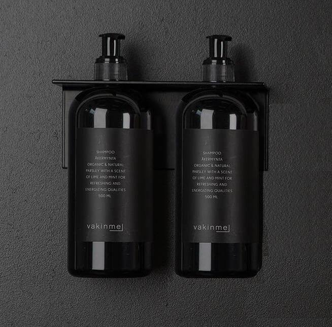Flaskhållare, upphängning, stativ flaska dubbel Vakinme