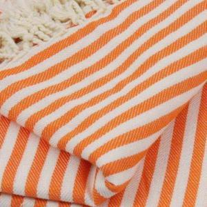 Extra stort XXL strandlakan 220x260 orange