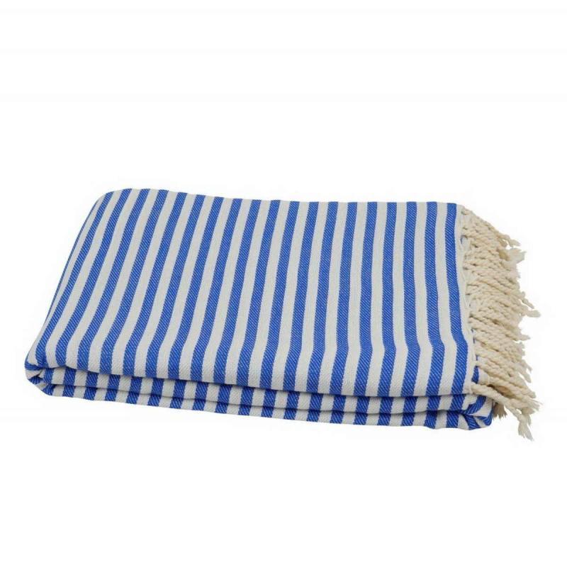 XXL beach towel blanket 220x260 sky blue