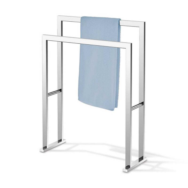 Zack handduks ställ LINEA i blankpolerat rostfritt stål