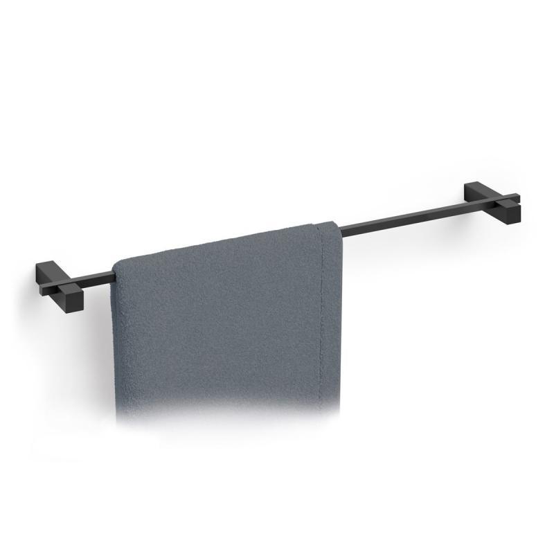 Handdukslist CARVO black 65,8 cm