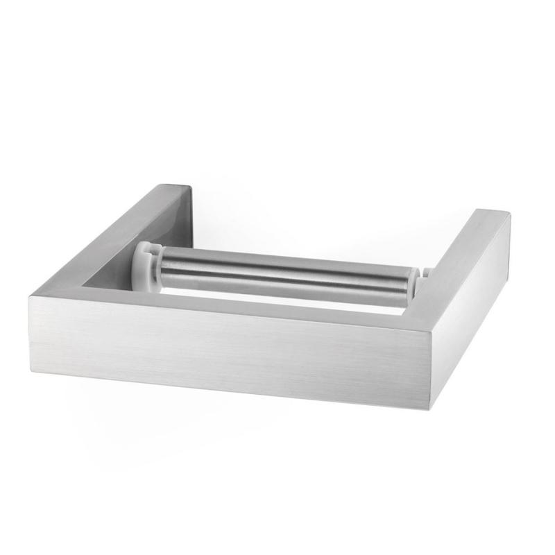 Zack LINEA toilet roll holder stainless steel brushed finish