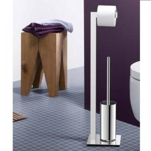 Zack LINEA Toilet Butler of stainless steel polished finish