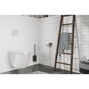 Toalettborste vägg CARVO black